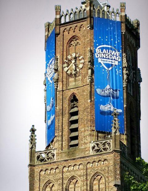 Blauwe Dinsdag - signing kerk - campagne: Gemeente Overbetuwe