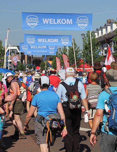 Gemeente Overbetuwe - signing - campagne: Blauwe Dinsdag